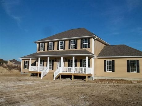 Build On Your Lot Opelika in Opelika AL New Homes Floor