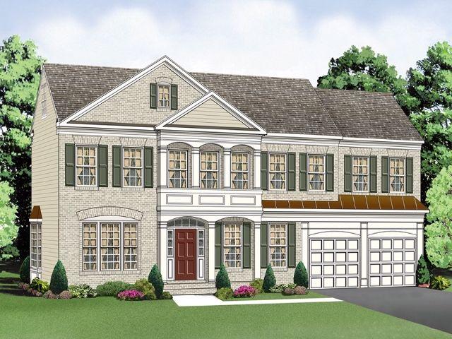 Brookfield homes canterbury model