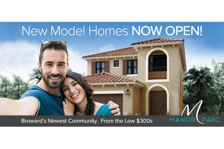 Model Homes Now Open Manor Parc