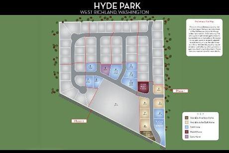 HYDE PARK PLAT MAP