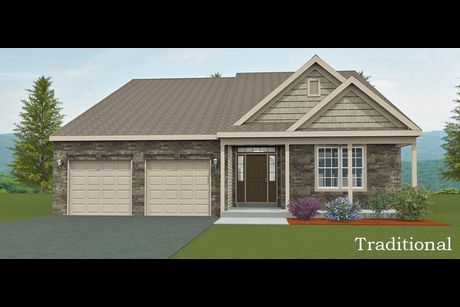 Traditional Elevation Lifestyle Lydia By Forino Homes