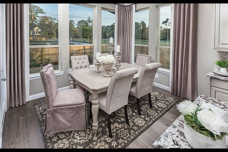 F H The Bordeaux Model Home Dining Room