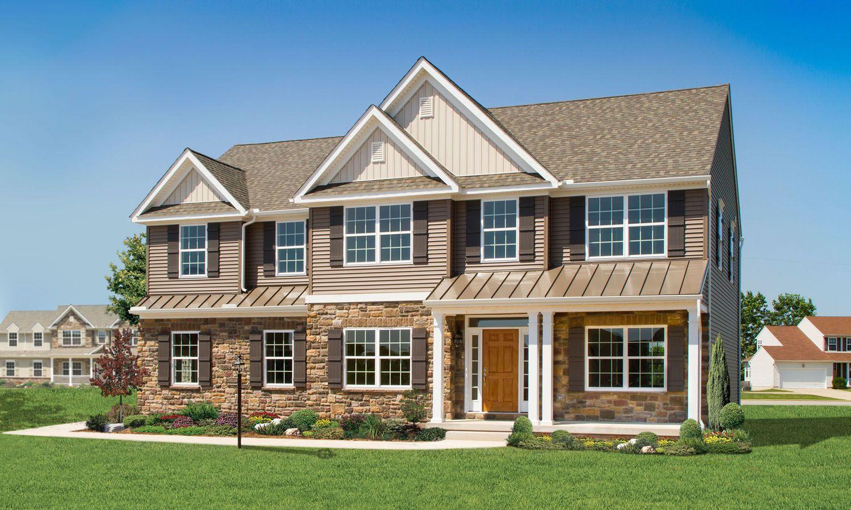 Keystone custom homes parker model