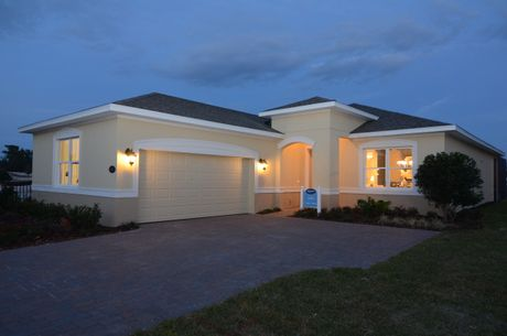 Cresswind At Victoria Gardens in Deland FL New Homes Floor