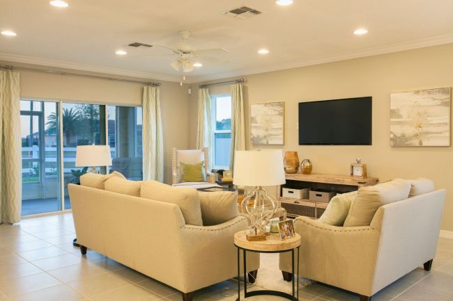 Miramar model home furniture