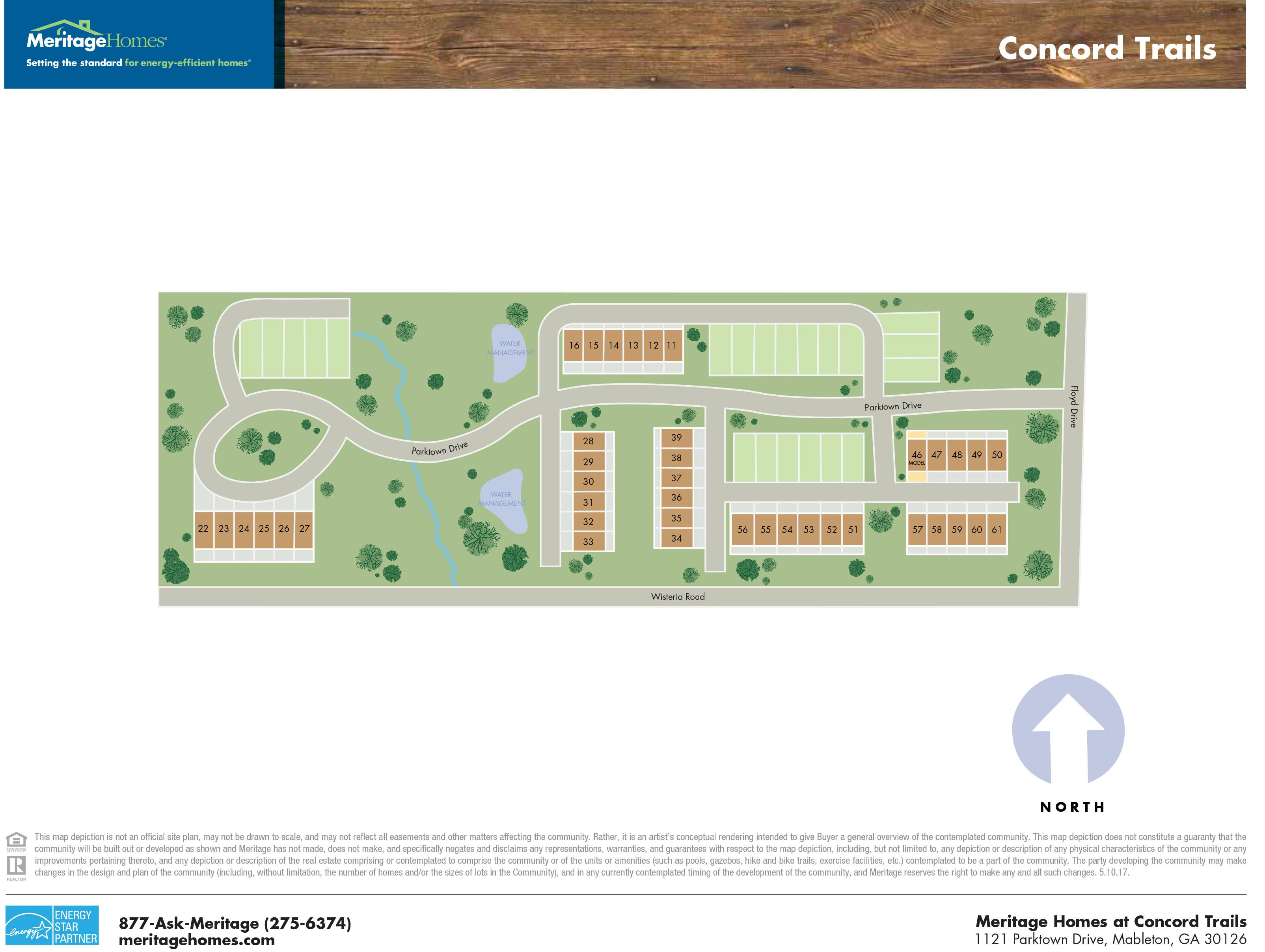 Concord Trails By Meritage Homes, 30126 ...