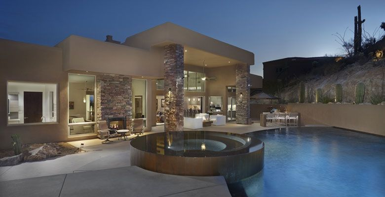 Custom home plans tucson az