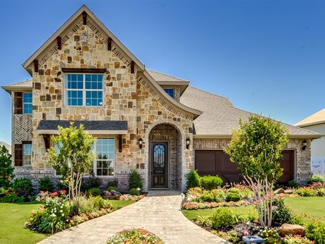 Garden Heights in Mansfield TX New Homes Floor Plans by
