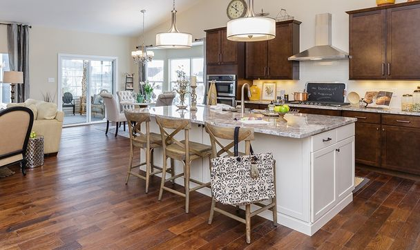 Island Kitchen in our Expanded Warson