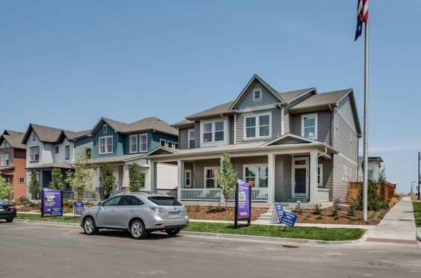 David Weekley Homes-Paired Exterior