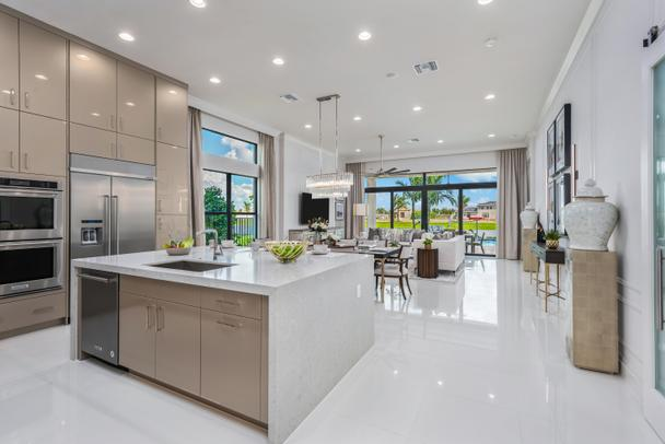 G.L Homes- The Adriana Plan (Kitchen) at Boca Bridges