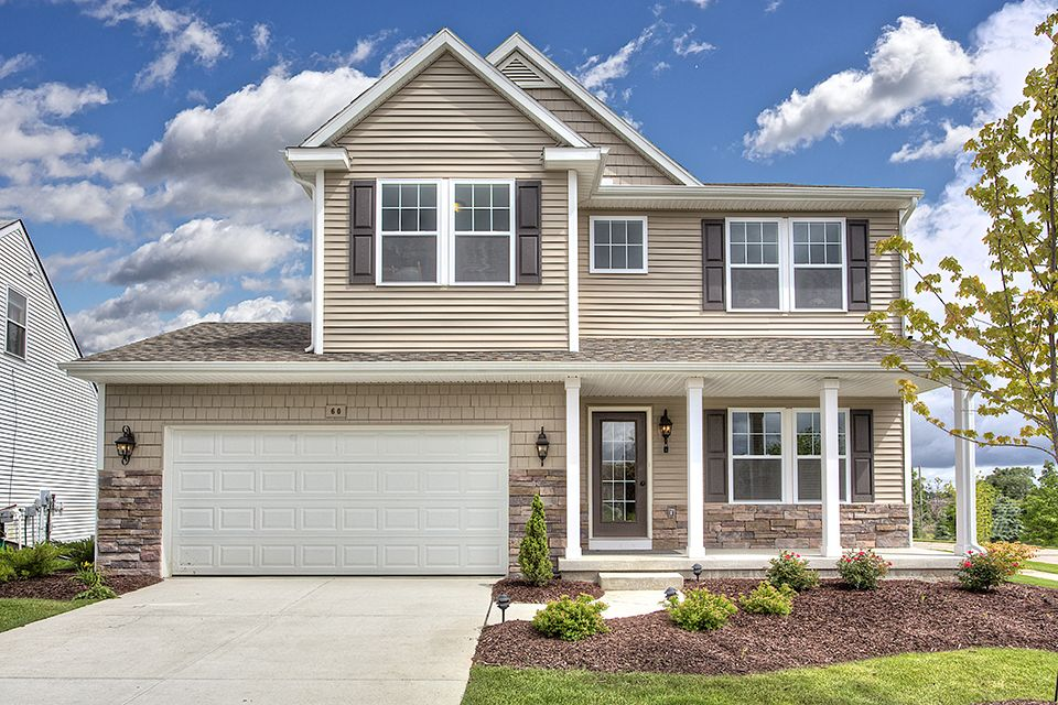 Saddlebrook Farms in Linden MI New Homes