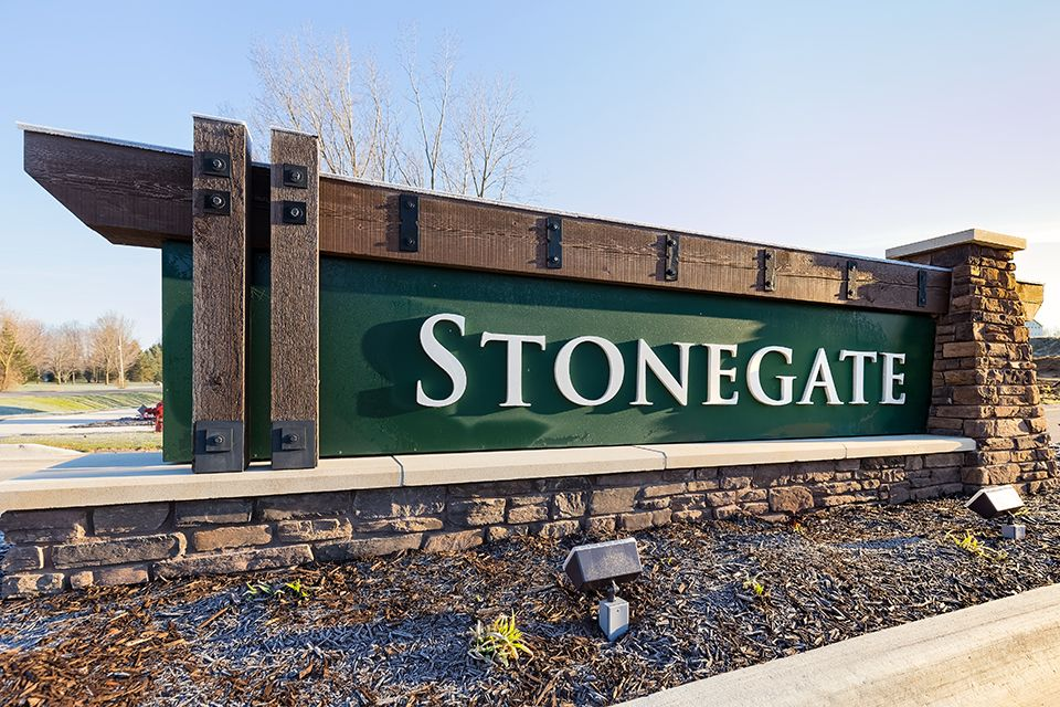 Us Area Code Michigan%0A Stonegate in Byron Center  MI  New Homes  u     Floor Plans by Allen Edwin Homes