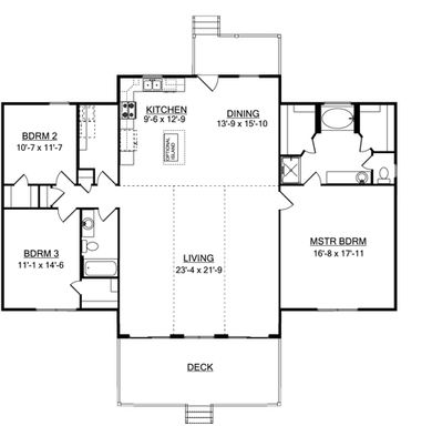 Mountain View Home Floor Plans