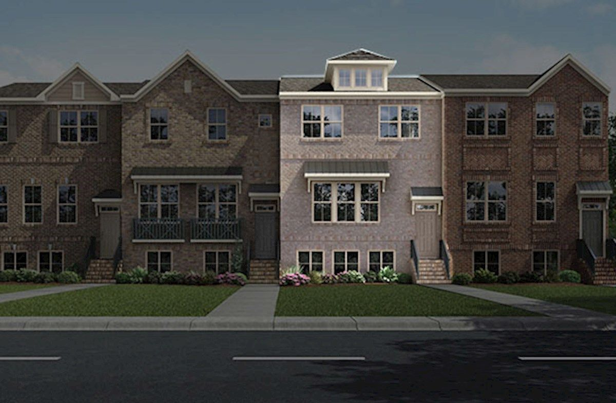 enclave at brandywine in alpharetta, ga, new homes & floor plans