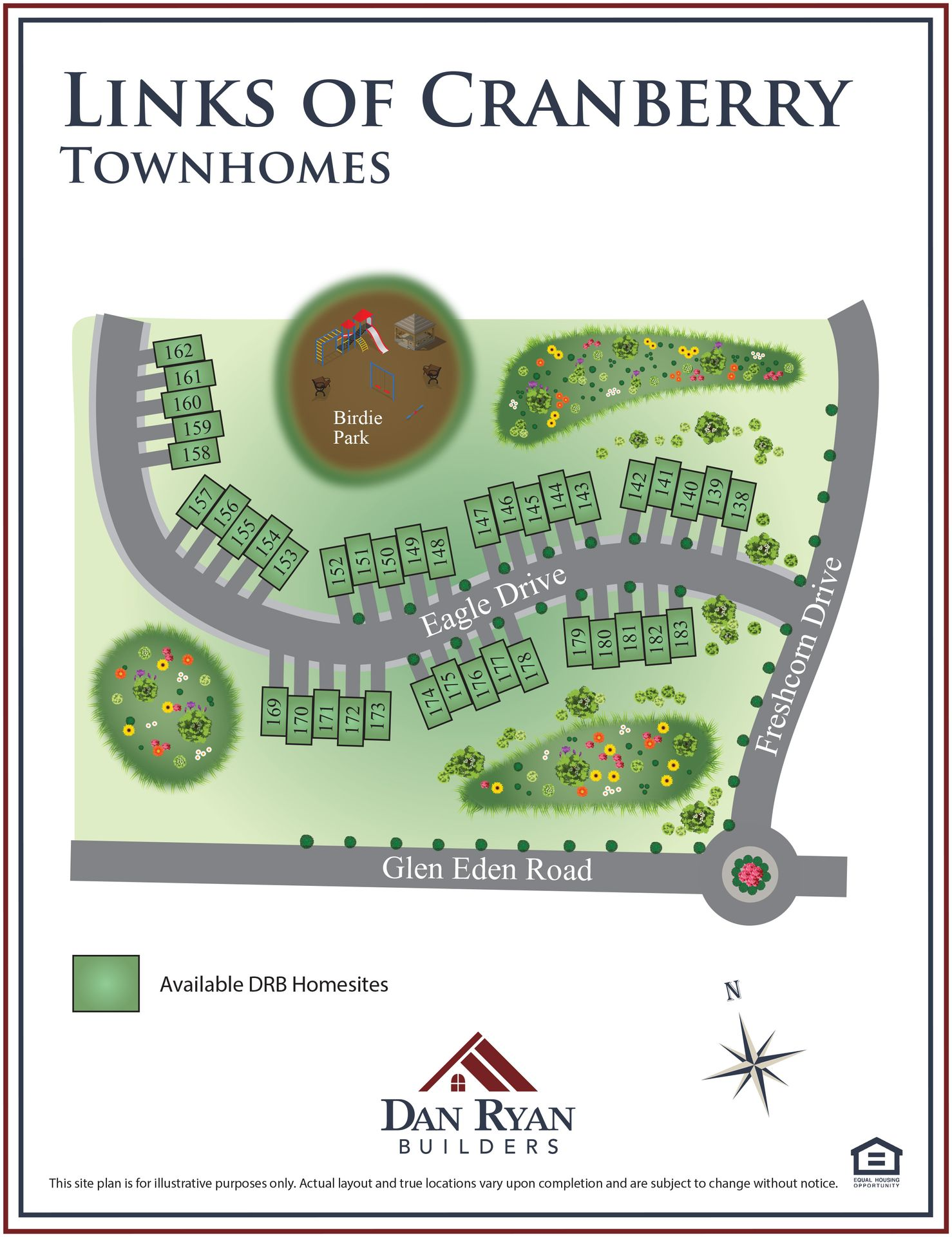 Links Of Cranberry - Townhomes in Cranberry Township, PA, New Homes ...