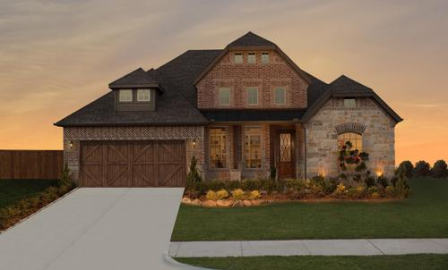 Valencia On The Lake By Dunhill Homes In Dallas Texas