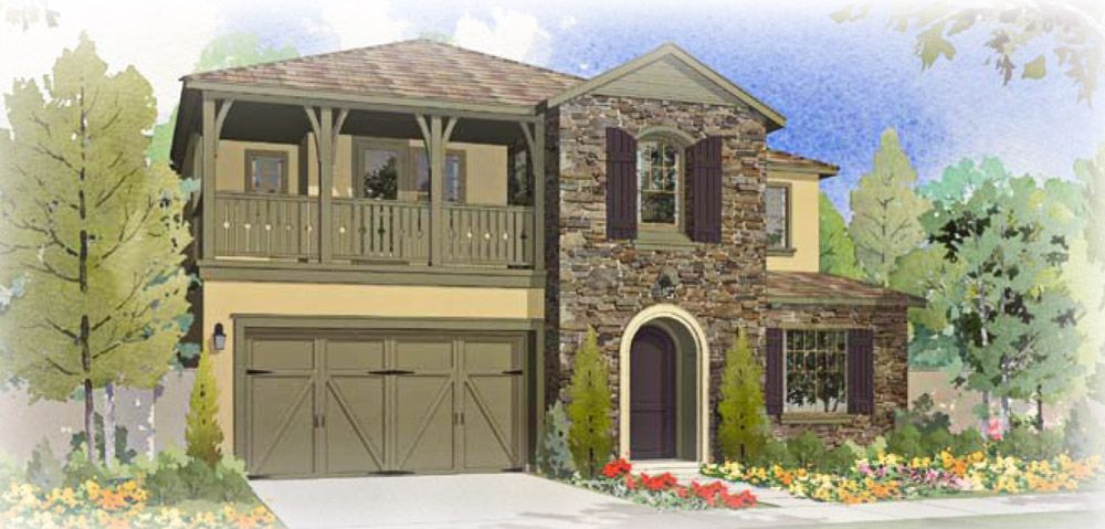 The Venice - Rose Gate Artistry Collection Lodi California - FCB Homes & New Construction Homes and Floor Plans in Lodi CA | NewHomeSource