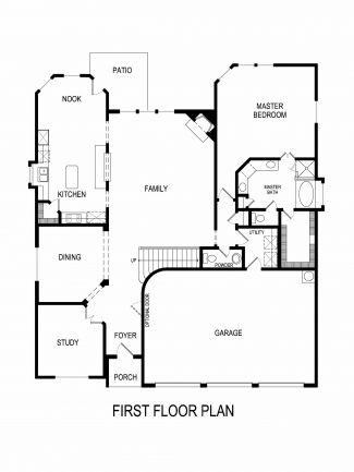 Boston WMedia Plan At Harmon Ranch At Presidio West In Fort - Floor plans for homes in texas