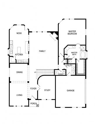 Stonehaven Plan At Grayhawk Addition In Forney Texas By First - Floor plans for homes in texas