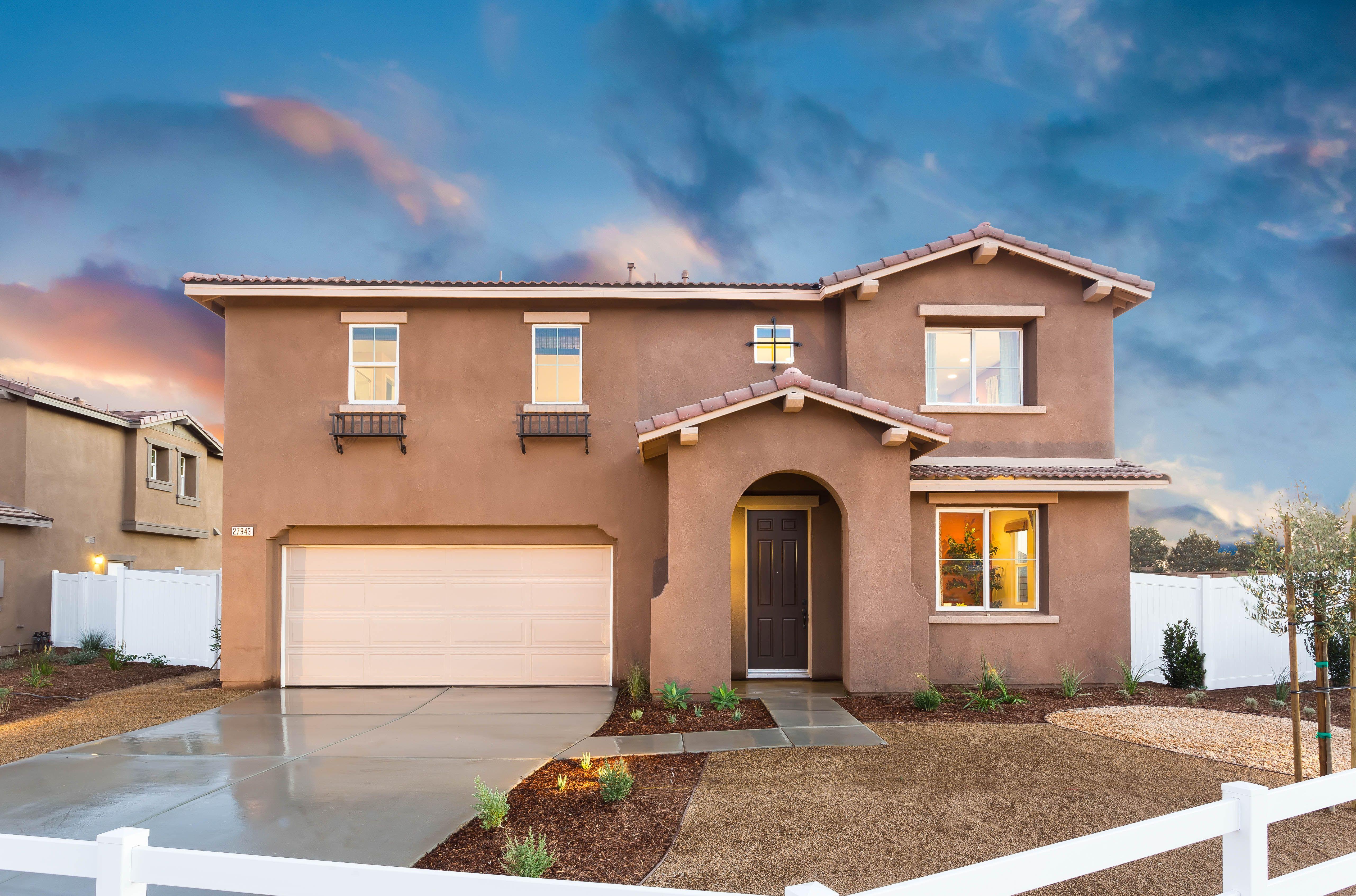 New Homes in Riverside San Bernardino CA