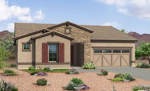 Hacienda At Windrose By Gehan Homes In Phoenix Mesa Arizona
