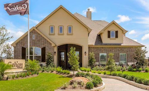 East Meadow Place By Gehan Homes In Houston Texas