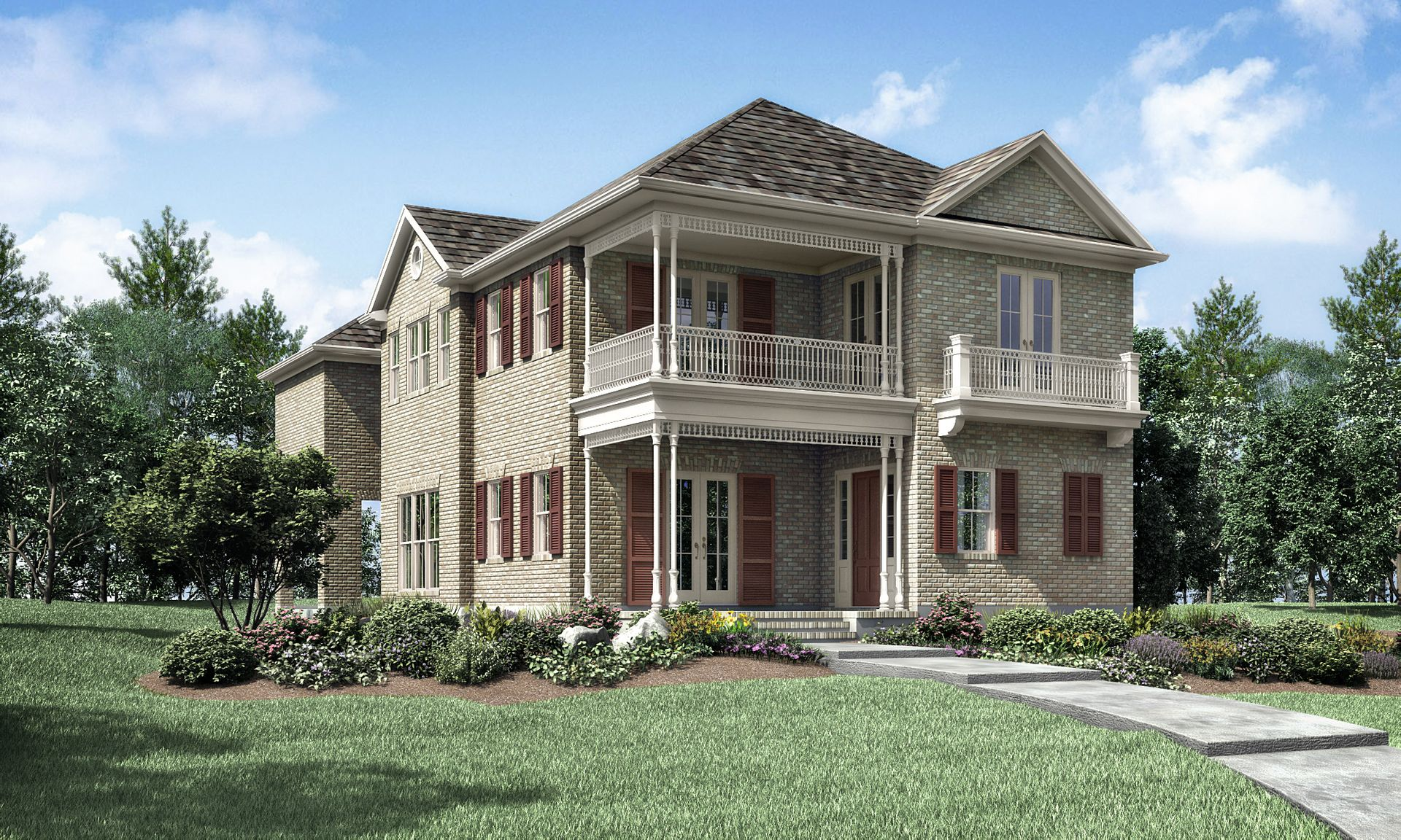 Marion in Shenandoah TX New Homes & Floor Plans by Gracepoint Homes