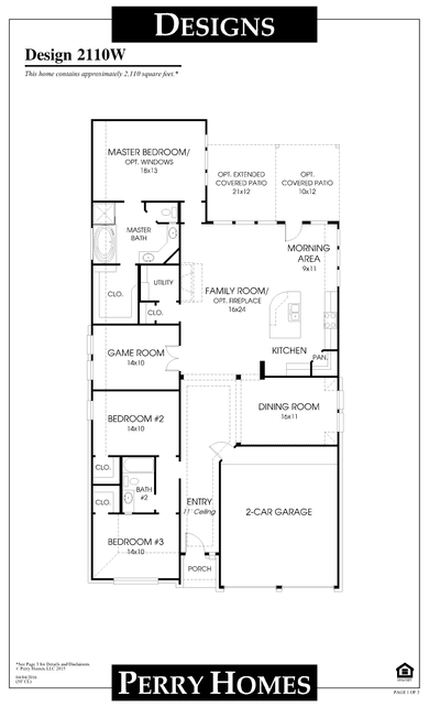 2110wperry homes plan at grand central park in conroe, texas