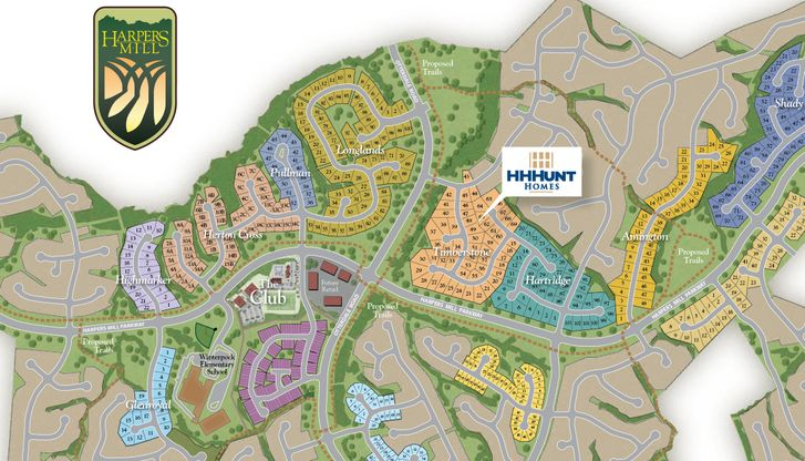 Harpers Mill in Chesterfield, VA, New Homes & Floor Plans by ...
