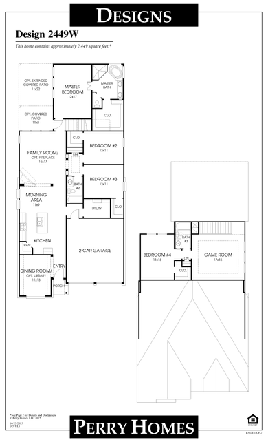 2449wperry homes plan at jordan ranch in brookshire, texas