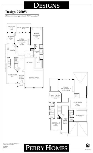 2950wperry homes plan at jordan ranch in brookshire, texas