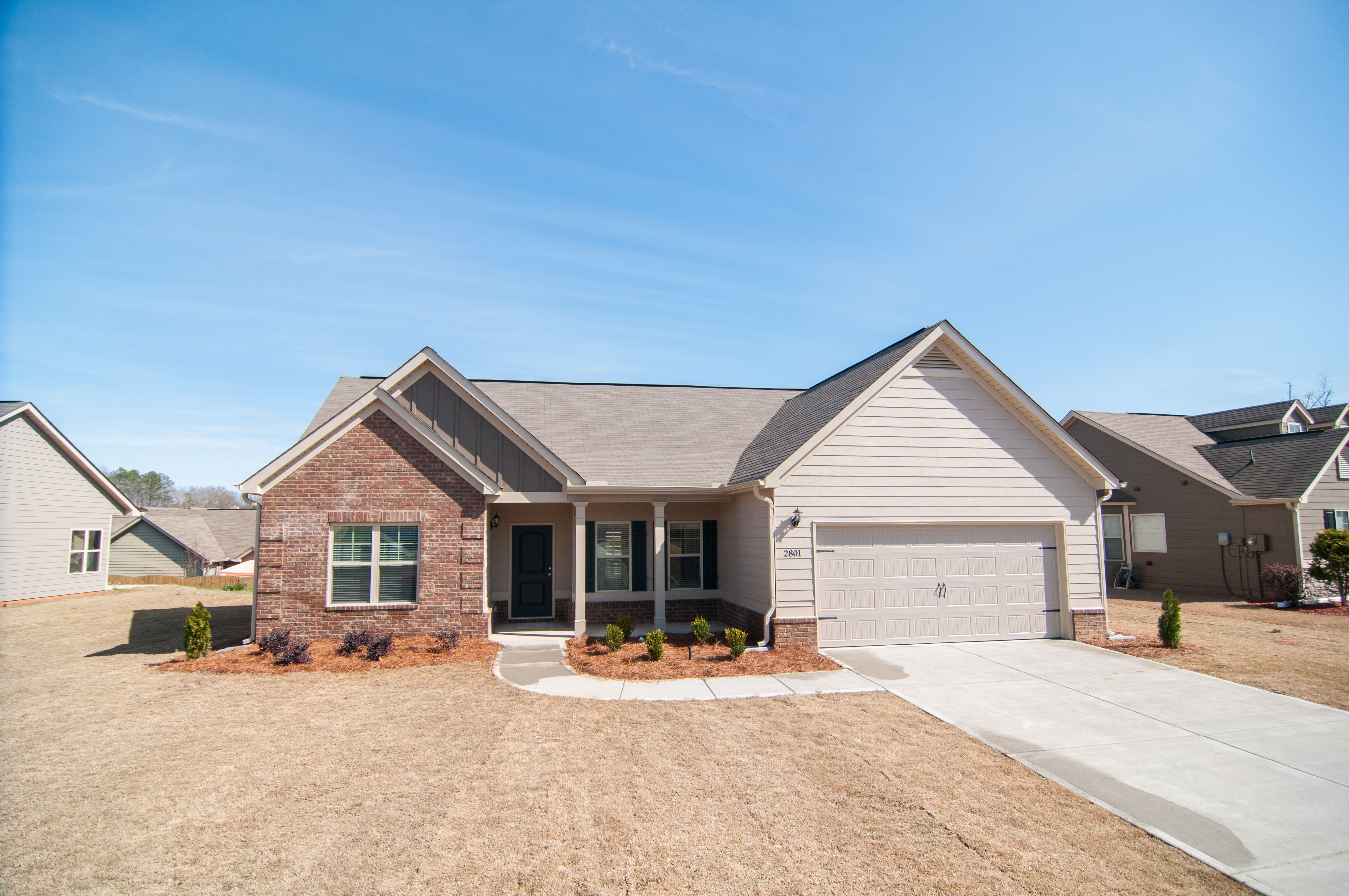 Wyndham South Gate & The Estates in Opelika AL New Homes & Floor