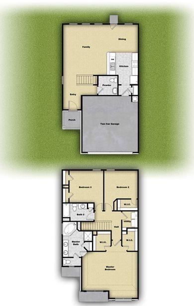 Mesquite Plan at Bunton Creek Village in Kyle Texas by LGI Homes