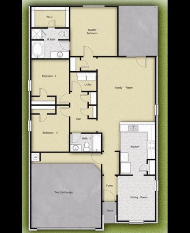 Maple Plan at Patriot Estates in Venus Texas by LGI Homes