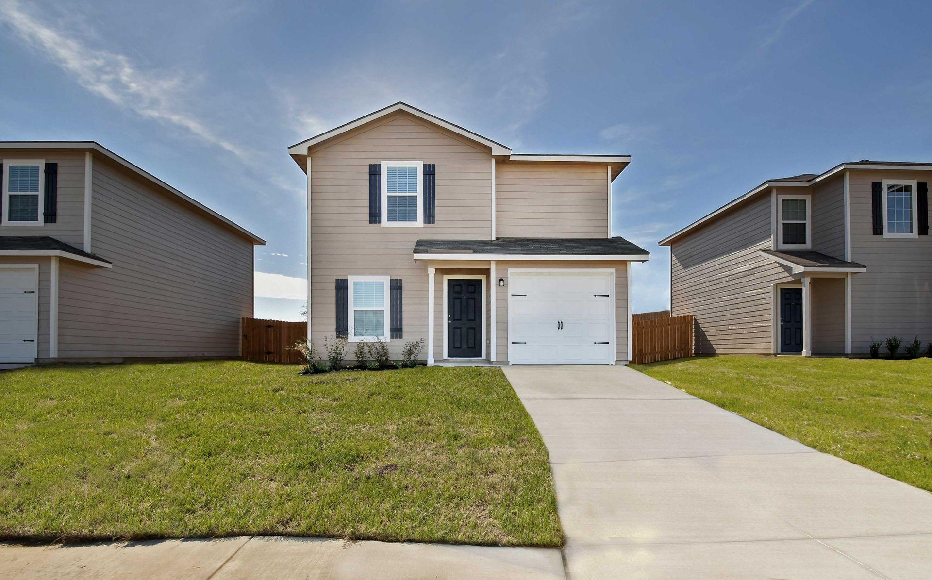 Luckey Ranch in San Antonio TX New Homes Floor Plans by LGI Homes