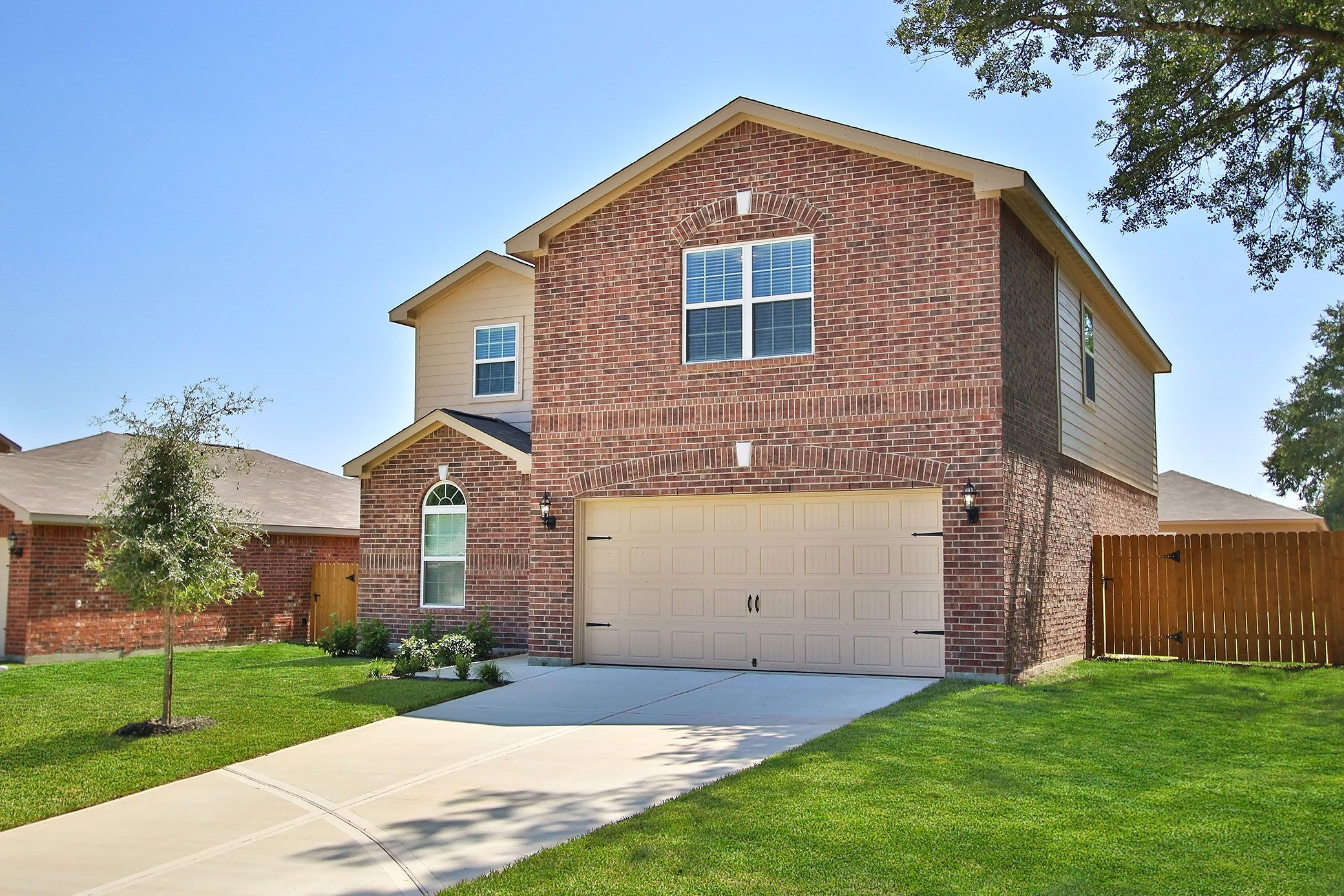 Villa North in Houston TX New Homes Floor Plans by LGI Homes