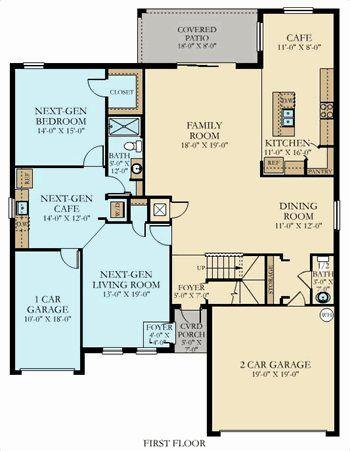 Lennar nextgen homes floor plans