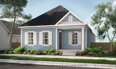 New Home Floor Plans - Americana Zachary | New Homes Baton Rouge