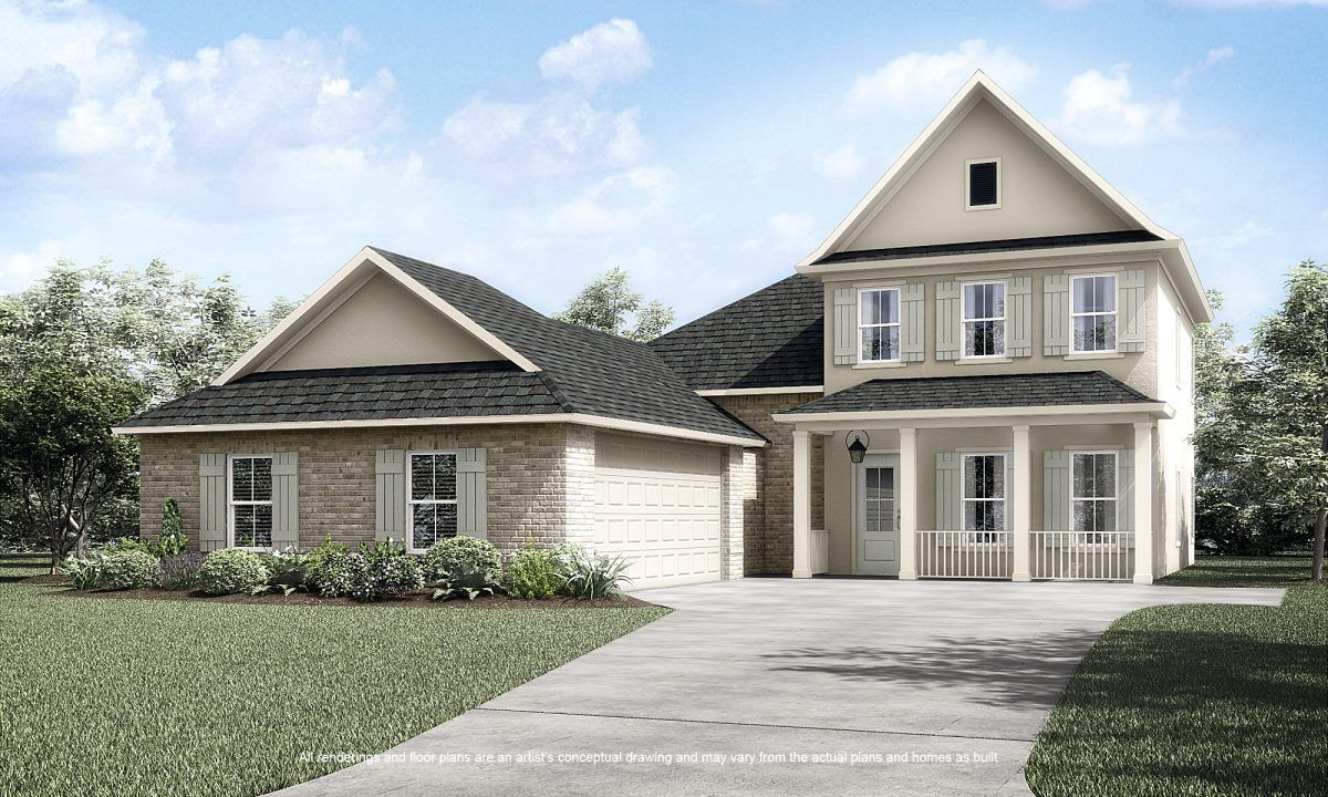 New Home Construction & Plans in Baton Rouge, LA | View 306 Homes ...