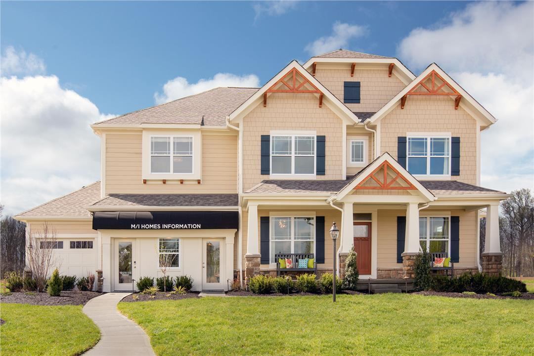 The Reserve At Scioto Glenn By M/I Homes In Columbus Ohio