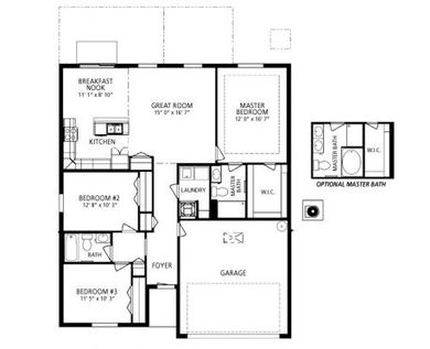 Maronda Homes Arlington Floor Plan