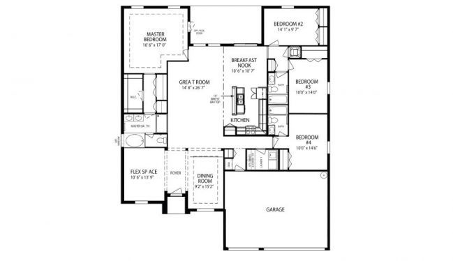 Maronda homes arlington floor plan Home plan