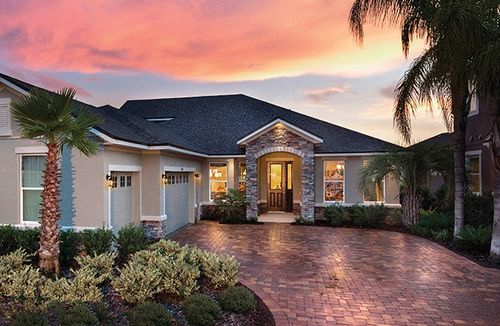 Preserve at crown point by mattamy homes in orlando florida