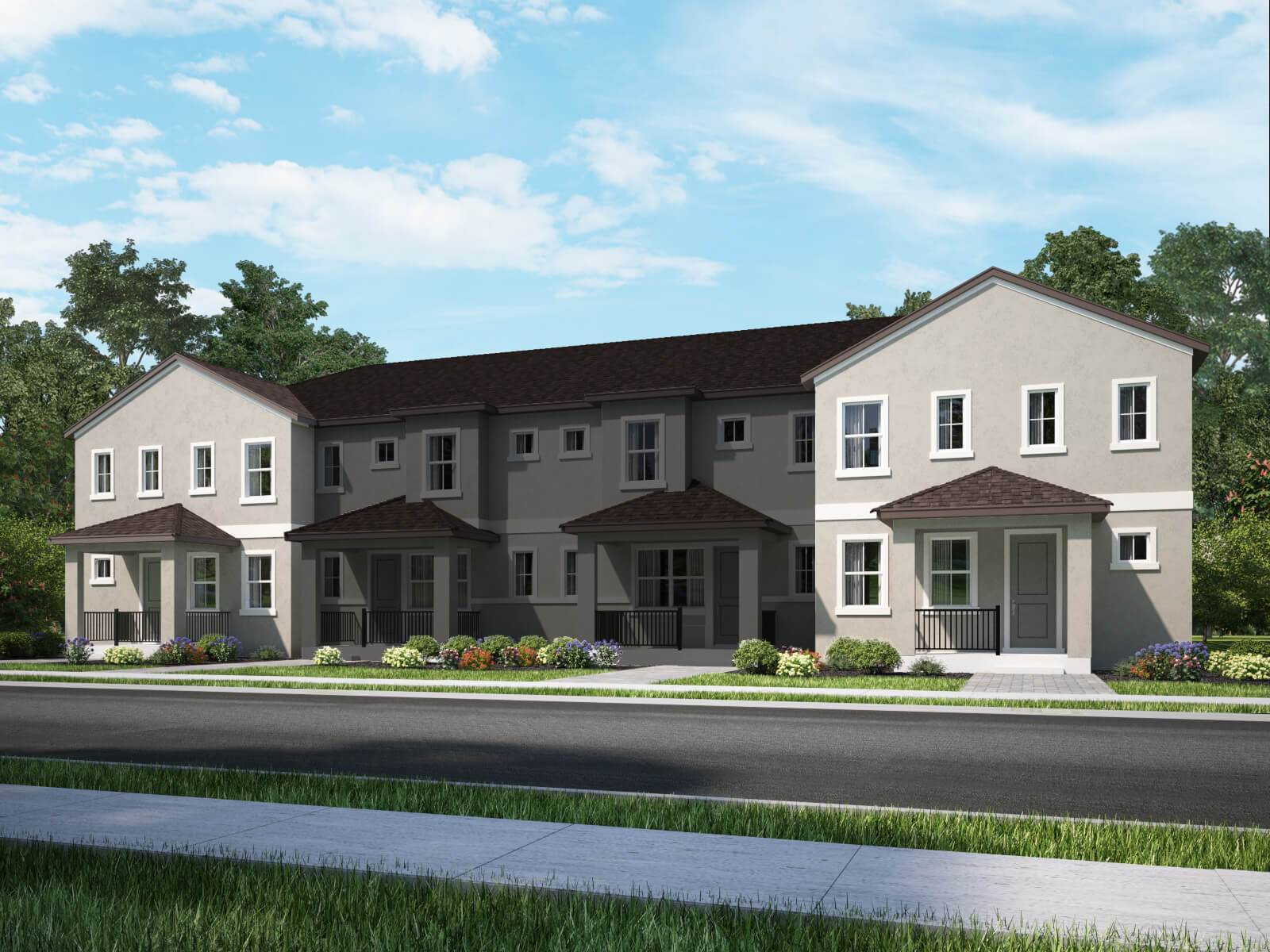 Homes In Watermark Townhomes By Meritage Homes. Meritage Homes In Winter  Garden, FL