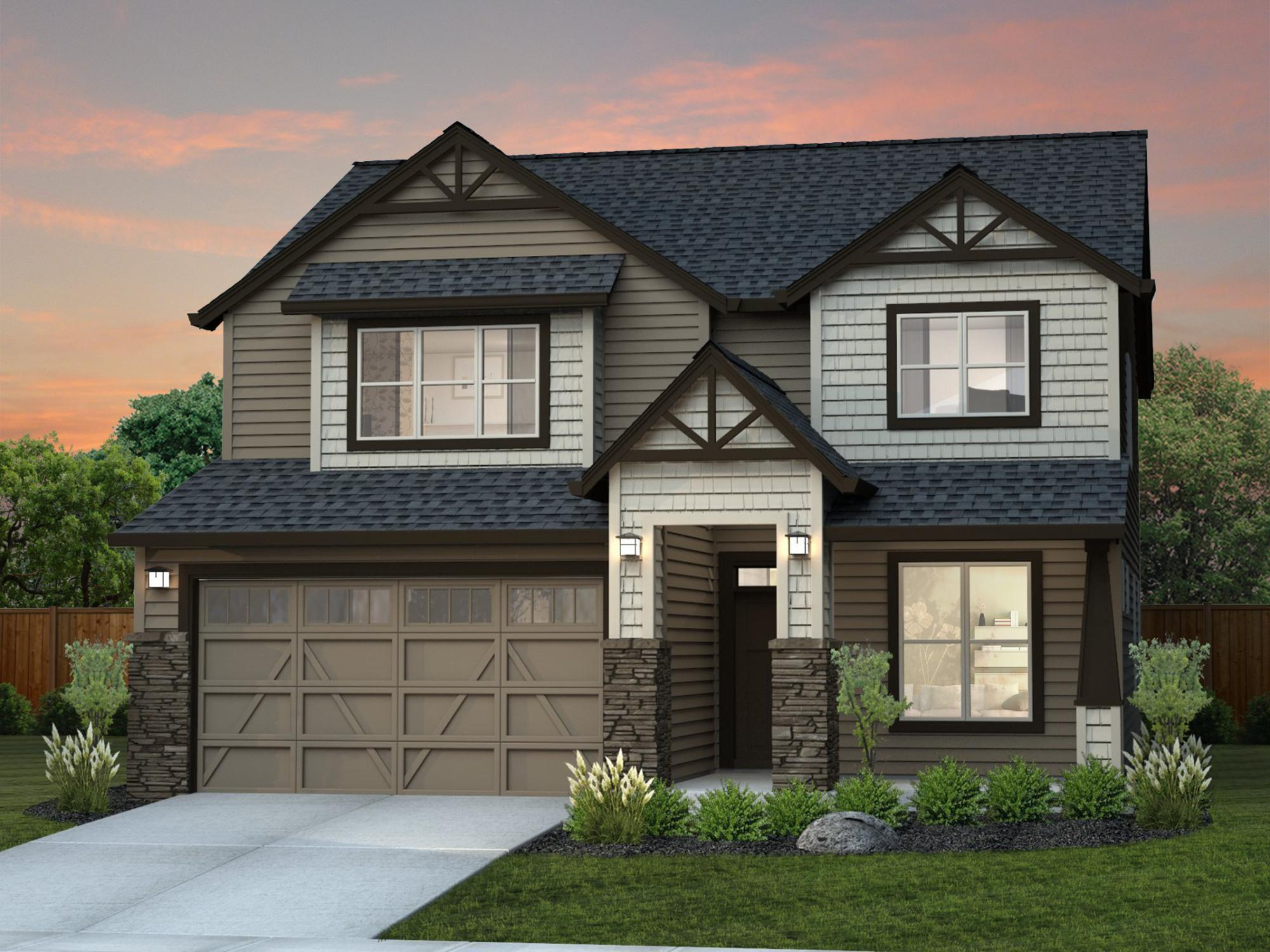 New Tradition Homes New Home Plans in Portland Vancouver OR