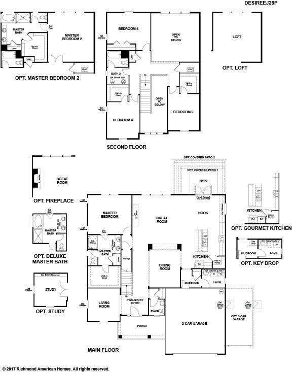 Floor Plan. Desiree. Image