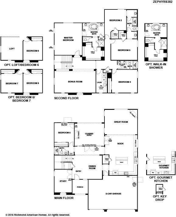 Floor Plan. Zephyr. Image