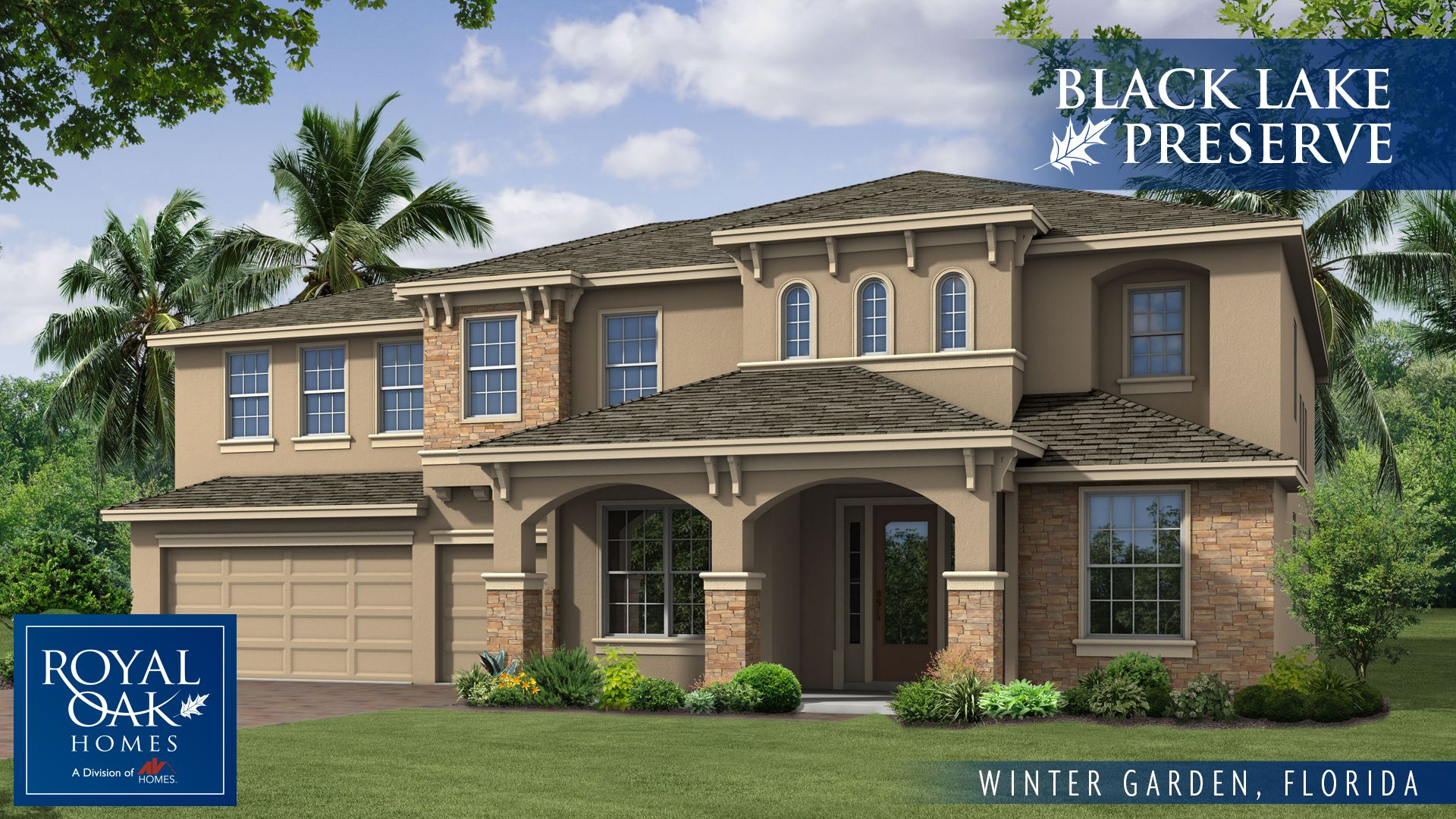 House For Sale In Black Lake Preserve By Royal Oak Homes. Royal Oak Homes  Home For Sale In Winter Garden, FL