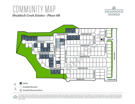 Shaddock Creek Estates - Gated Community in Frisco, TX, New Homes ...